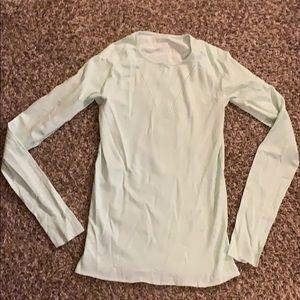 Light green lightweight Swift LULULEMON shirt 6